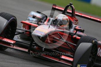 World © Octane Photographic Ltd. FIA Formula E testing – Donington Park 18th August 2015, Venturi VM200-FE-01. Dragon Racing – Jermoe D'Ambrosio. Digital Ref : 1369LB1D6444