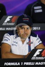 World © Octane Photographic Ltd. FIA Drivers' Press Conference. Thursday 23rd July 2015, F1 Hungarian GP, Hungaroring, Hungary. Sauber F1 Team – Felipe Nasr. Digital Ref: 1345LB1D7242
