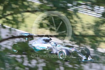 World © Octane Photographic Ltd. Mercedes AMG Petronas F1 W06 Hybrid – Nico Rosberg. Friday 24th July 2015, F1 Hungarian GP Practice 2, Hungaroring, Hungary. Digital Ref: 1348CB1L5473