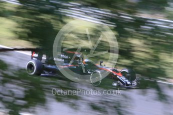 World © Octane Photographic Ltd. McLaren Honda MP4/30 – Fernando Alonso. Friday 24th July 2015, F1 Hungarian GP Practice 2, Hungaroring, Hungary. Digital Ref: 1348CB1L5492
