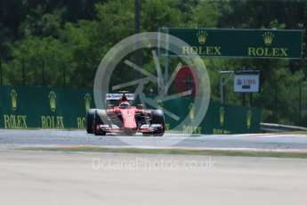 World © Octane Photographic Ltd. Scuderia Ferrari SF15-T– Kimi Raikkonen. Friday 24th July 2015, F1 Hungarian GP Practice 2, Hungaroring, Hungary. Digital Ref: 1348LB1D8549