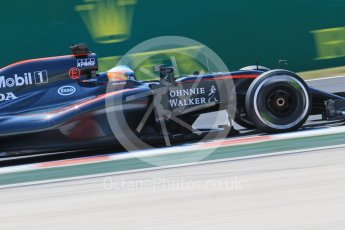 World © Octane Photographic Ltd. McLaren Honda MP4/30 – Fernando Alonso. Friday 24th July 2015, F1 Hungarian GP Practice 2, Hungaroring, Hungary. Digital Ref: 1348LB1D8576