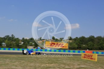World © Octane Photographic Ltd. Sauber F1 Team C34-Ferrari – Marcus Ericsson. Friday 24th July 2015, F1 Hungarian GP Practice 2, Hungaroring, Hungary. Digital Ref: 1348LB5D0596