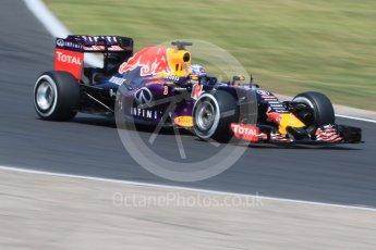World © Octane Photographic Ltd. Infiniti Red Bull Racing RB11 – Daniel Ricciardo. Saturday 25th July 2015, F1 Hungarian GP Practice 3, Hungaroring, Hungary. Digital Ref: 1352CB7D8317