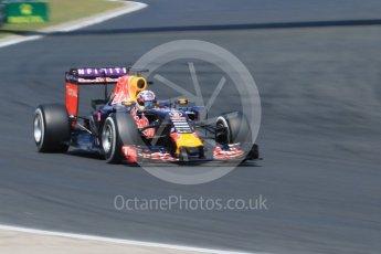World © Octane Photographic Ltd. Infiniti Red Bull Racing RB11 – Daniel Ricciardo. Saturday 25th July 2015, F1 Hungarian GP Practice 3, Hungaroring, Hungary. Digital Ref: 1352CB7D8350