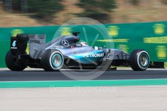 World © Octane Photographic Ltd. Mercedes AMG Petronas F1 W06 Hybrid – Lewis Hamilton. Saturday 25th July 2015, F1 Hungarian GP Practice 3, Hungaroring, Hungary. Digital Ref: 1352CB7D8447
