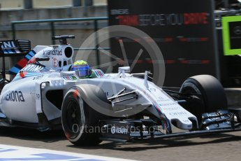 World © Octane Photographic Ltd. Williams Martini Racing FW37 – Felipe Massa. Saturday 25th July 2015, F1 Hungarian GP Practice 3, Hungaroring, Hungary. Digital Ref: 1352LB1D0275
