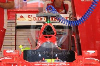 World © Octane Photographic Ltd. Scuderia Ferrari SF15-T– Sebastian Vettel. Saturday 25th July 2015, F1 Hungarian GP Practice 3, Hungaroring, Hungary. Digital Ref: 1352LB1D9750
