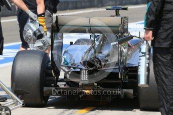 World © Octane Photographic Ltd. Mercedes AMG Petronas F1 W06 Hybrid – Nico Rosberg. Saturday 25th July 2015, F1 Hungarian GP Practice 3, Hungaroring, Hungary. Digital Ref: 1352LB1D9962