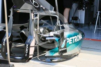 World © Octane Photographic Ltd. Mercedes AMG Petronas F1 W06 Hybrid. Thursday 23rd July 2015, F1 Hungarian GP Pitlane, Hungaroring, Hungary. Digital Ref: 1343LB5D0007