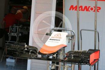 World © Octane Photographic Ltd. Manor Marussia F1 Team MR03B. Thursday 23rd July 2015, F1 Hungarian GP Pitlane, Hungaroring, Hungary. Digital Ref: 1343LB5D0126