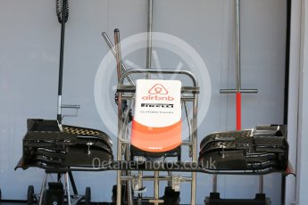 World © Octane Photographic Ltd. Manor Marussia F1 Team MR03B. Thursday 23rd July 2015, F1 Hungarian GP Pitlane, Hungaroring, Hungary. Digital Ref: 1343LB5D0128