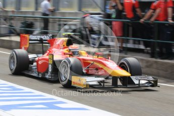 World © Octane Photographic Ltd. Friday 24th July 2015. Racing Engineering – Alexander Rossi. GP2 Practice Session – Hungaroring, Hungary. Digital Ref. : 1347CB1L5068