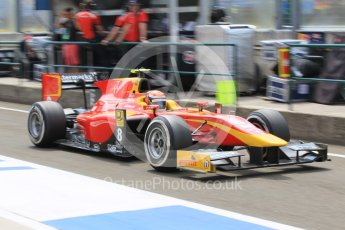 World © Octane Photographic Ltd. Friday 24th July 2015. Racing Engineering – Alexander Rossi. GP2 Practice Session – Hungaroring, Hungary. Digital Ref. : 1347CB1L5070