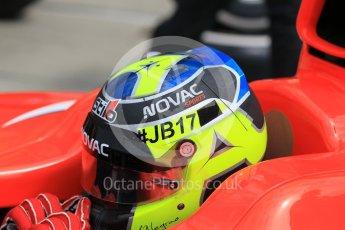 World © Octane Photographic Ltd. Friday 24th July 2015. Arden International – Andre Negrao. GP2 Practice Session – Hungaroring, Hungary. Digital Ref. : 1347CB1L5186