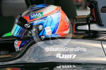 World © Octane Photographic Ltd. Friday 24th July 2015. Status Grand Prix – Richie Stanaway. GP2 Practice Session – Hungaroring, Hungary. Digital Ref. : 1347CB1L5207