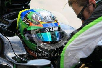 World © Octane Photographic Ltd. Friday 24th July 2015. Status Grand Prix – Marlon Stockinger. GP2 Practice Session – Hungaroring, Hungary. Digital Ref. : 1347CB1L5217