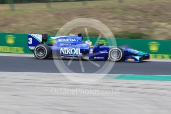 World © Octane Photographic Ltd. Friday 24th July 2015. Carlin – Julian Leal. GP2 Practice Session – Hungaroring, Hungary. Digital Ref. :