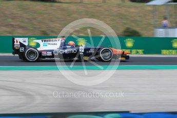 World © Octane Photographic Ltd. Friday 24th July 2015. Trident – Raffaele Marciello. GP2 Practice Session – Hungaroring, Hungary. Digital Ref. :