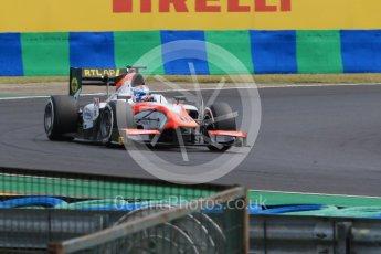World © Octane Photographic Ltd. Friday 24th July 2015. MP Motorsport – Nicohlas Latifi. GP2 Practice Session – Hungaroring, Hungary. Digital Ref. :