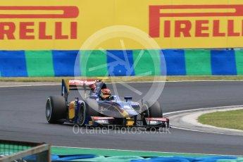 World © Octane Photographic Ltd. Friday 24th July 2015. Carlin – Sean Gelael. GP2 Practice Session – Hungaroring, Hungary. Digital Ref. :