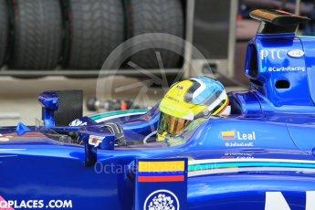 World © Octane Photographic Ltd. Saturday 25th July 2015. Carlin – Julian Leal. GP2 Race 1 – Hungaroring, Hungary. Digital Ref. : 1354CB1L6503