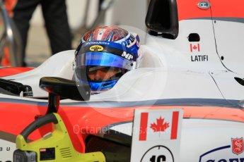 World © Octane Photographic Ltd. Saturday 25th July 2015. MP Motorsport – Nicohlas Latifi. GP2 Race 1 – Hungaroring, Hungary. Digital Ref. : 1354CB1L6577