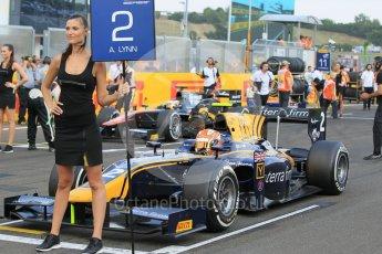 World © Octane Photographic Ltd. Saturday 25th July 2015. DAMS – Alex Lynn and ART Grand Prix – Stoffel Vandoorne. GP2 Race 1 – Hungaroring, Hungary. Digital Ref. : 1354CB1L6609