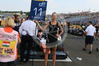 World © Octane Photographic Ltd. Saturday 25th July 2015. Trident – Raffaele Marciello. GP2 Race 1 – Hungaroring, Hungary. Digital Ref. : 1354CB7D8706