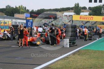 World © Octane Photographic Ltd. Saturday 25th July 2015. Racing Engineering – Alexander Rossi on a busy grid. GP2 Race 1 – Hungaroring, Hungary. Digital Ref. : 1354CB7D8722
