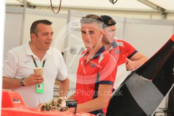 World © Octane Photographic Ltd. Friday 24th July 2015. Arden International – Kevin Ceccon. GP3 Practice Session – Hungaroring, Hungary. Digital Ref. : 1350CB1L5795