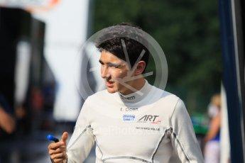 World © Octane Photographic Ltd. Friday 24th July 2015. ART Grand Prix – Esteban Ocon. GP3 Practice Session – Hungaroring, Hungary. Digital Ref. : 1350CB1L5948