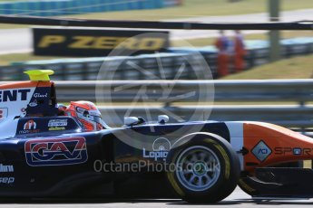 World © Octane Photographic Ltd. Saturday 25th July 2015. Trident – Luca Ghiotto. GP3 Qualifying – Hungaroring, Hungary. Digital Ref. : 1353LB1D9525