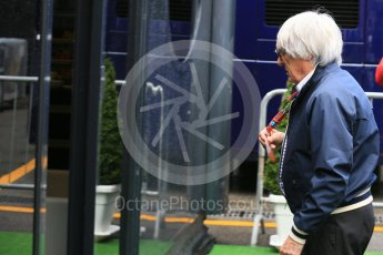 World © Octane Photographic Ltd. Bernie Ecclestone. Saturday 5th September 2015, F1 Italian GP Paddock, Monza, Italy. Digital Ref: 1409LB5D8551