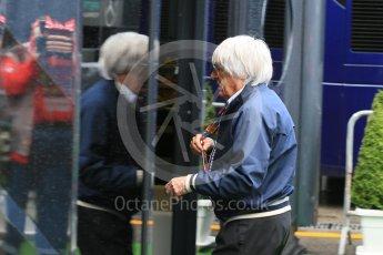 World © Octane Photographic Ltd. Bernie Ecclestone. Saturday 5th September 2015, F1 Italian GP Paddock, Monza, Italy. Digital Ref: 1409LB5D8555
