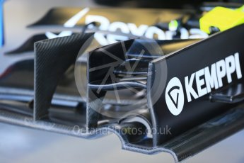 World © Octane Photographic Ltd. Williams Martini Racing FW37 front wing. Saturday 5th September 2015, F1 Italian GP Practice 3, Monza, Italy. Digital Ref: 1411LB1D0931