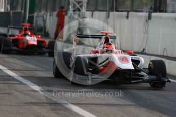 World © Octane Photographic Ltd. Friday 4th September 2015. ART Grand Prix – Esteban Ocon. GP3 Practice - Monza, Italy. Digital Ref. : 1410LB1D0141