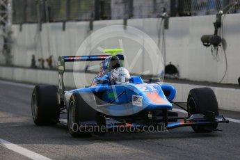 World © Octane Photographic Ltd. Friday 4th September 2015. Jenzer Motorsport – Matheo Tuscher. GP3 Practice - Monza, Italy. Digital Ref. : 1410LB1D0182