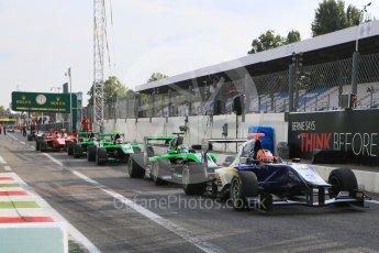World © Octane Photographic Ltd. Friday 4th September 2015. Carlin – Mitchell Gilbert. GP3 Practice - Monza, Italy. Digital Ref. : 1410LB5D8428