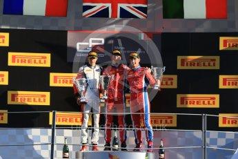 World © Octane Photographic Ltd. Saturday 5th September 2015. Arden International – Emil Bernstorff (1st), ART Grand Prix – Esteban Ocon (2nd) and Arden International – Kevin Ceccon. GP3 Race 1 - Monza, Italy. Digital Ref. : 1414LB1D1945