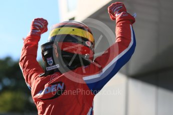 World © Octane Photographic Ltd. Saturday 5th September 2015. Arden International – Emil Bernstorff (1st). GP3 Race 1 - Monza, Italy. Digital Ref. : 1414LB5D8964