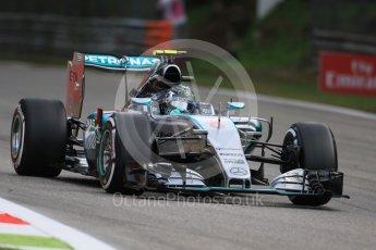World © Octane Photographic Ltd. Mercedes AMG Petronas F1 W06 Hybrid – Nico Rosberg. Friday 4th September 2015, F1 Italian GP Practice 1, Monza, Italy. Digital Ref: 1405LB7D5567