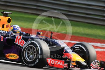World © Octane Photographic Ltd. Infiniti Red Bull Racing RB11 – Daniel Ricciardo. Friday 4th September 2015, F1 Italian GP Practice 1, Monza, Italy. Digital Ref: 1405LB7D6291