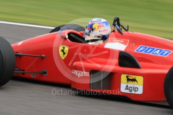 World © Octane Photographic Ltd. Sunday 27th September 2015, F1 Japanese Grand Prix, F1 Legends Demonstation Laps, Suzuka. Ferrari F187 (Ex Gerhard Berger) Driven by Martin Brundell. Digital Ref: