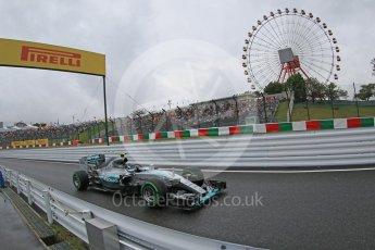 World © Octane Photographic Ltd. Mercedes AMG Petronas F1 W06 Hybrid – Nico Rosberg. Friday 25th September 2015, F1 Japanese Grand Prix, Practice 2, Suzuka. Digital Ref: