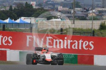 World © Octane Photographic Ltd. Manor Marussia F1 Team MR03B – Alexander Rossi. Friday 25th September 2015, F1 Japanese Grand Prix, Practice 2, Suzuka. Digital Ref: