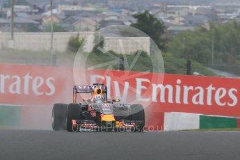 World © Octane Photographic Ltd. Infiniti Red Bull Racing RB11 – Daniil Kvyat. Friday 25th September 2015, F1 Japanese Grand Prix, Practice 2, Suzuka. Digital Ref: