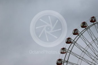 World © Octane Photographic Ltd. The iconic big wheel. Friday 25th September 2015, F1 Japanese Grand Prix, Practice 2, Suzuka. Digital Ref: