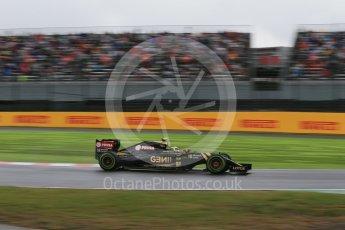 World © Octane Photographic Ltd. Lotus F1 Team E23 Hybrid – Pastor Maldonado. Friday 25th September 2015, F1 Japanese Grand Prix, Practice 2, Suzuka. Digital Ref: