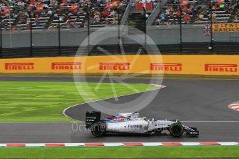 World © Octane Photographic Ltd. Williams Martini Racing FW37 – Felipe Massa. Friday 25th September 2015, F1 Japanese Grand Prix, Practice 2, Suzuka. Digital Ref: